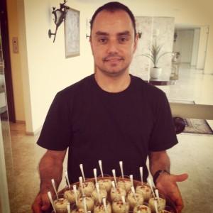 Sergio com tartar